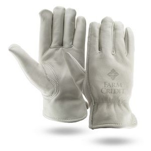 Winter Lined Buffalo Leather Gloves